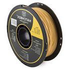 HATCHBOX PLA 1.75 mm 3D Printer Filament in Gold, 1kg Spool