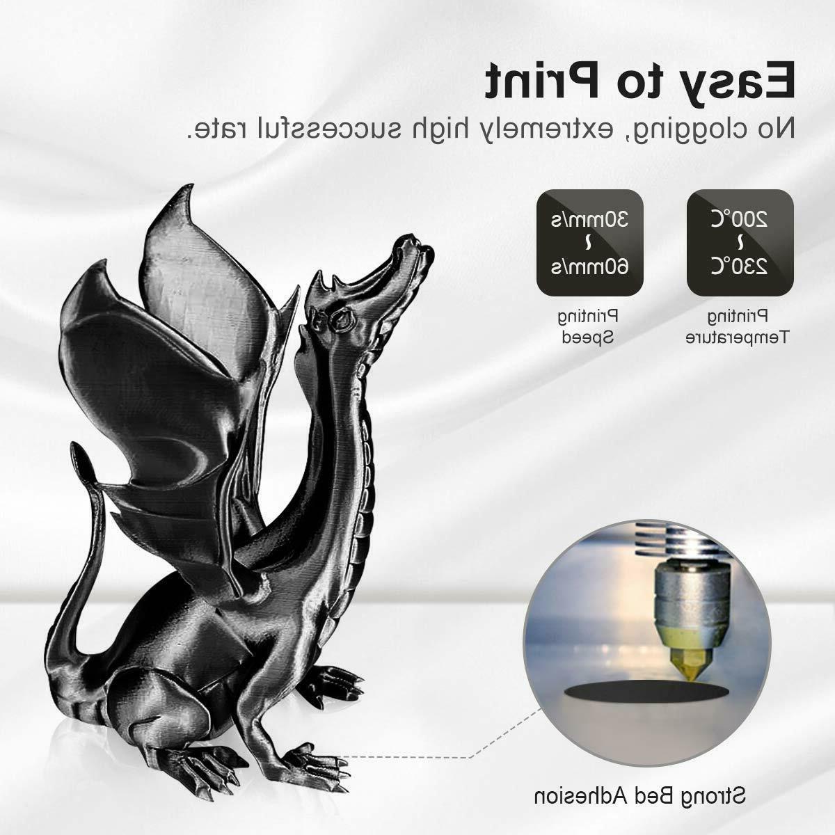 PLA 1.75mm 3D Printer 2.2 LBS Spool Printing