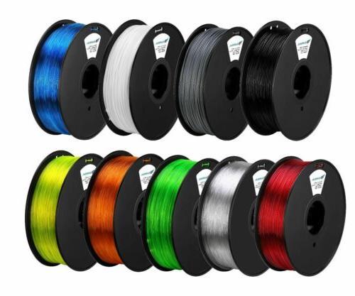 Premium Printer Filament ABS PLA 2.2lb Consumables BT