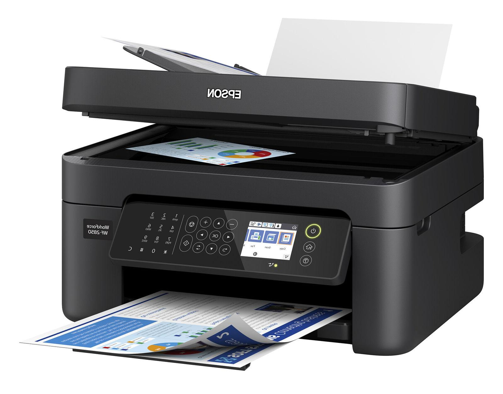 Epson Fax Scanner Copier Wireless