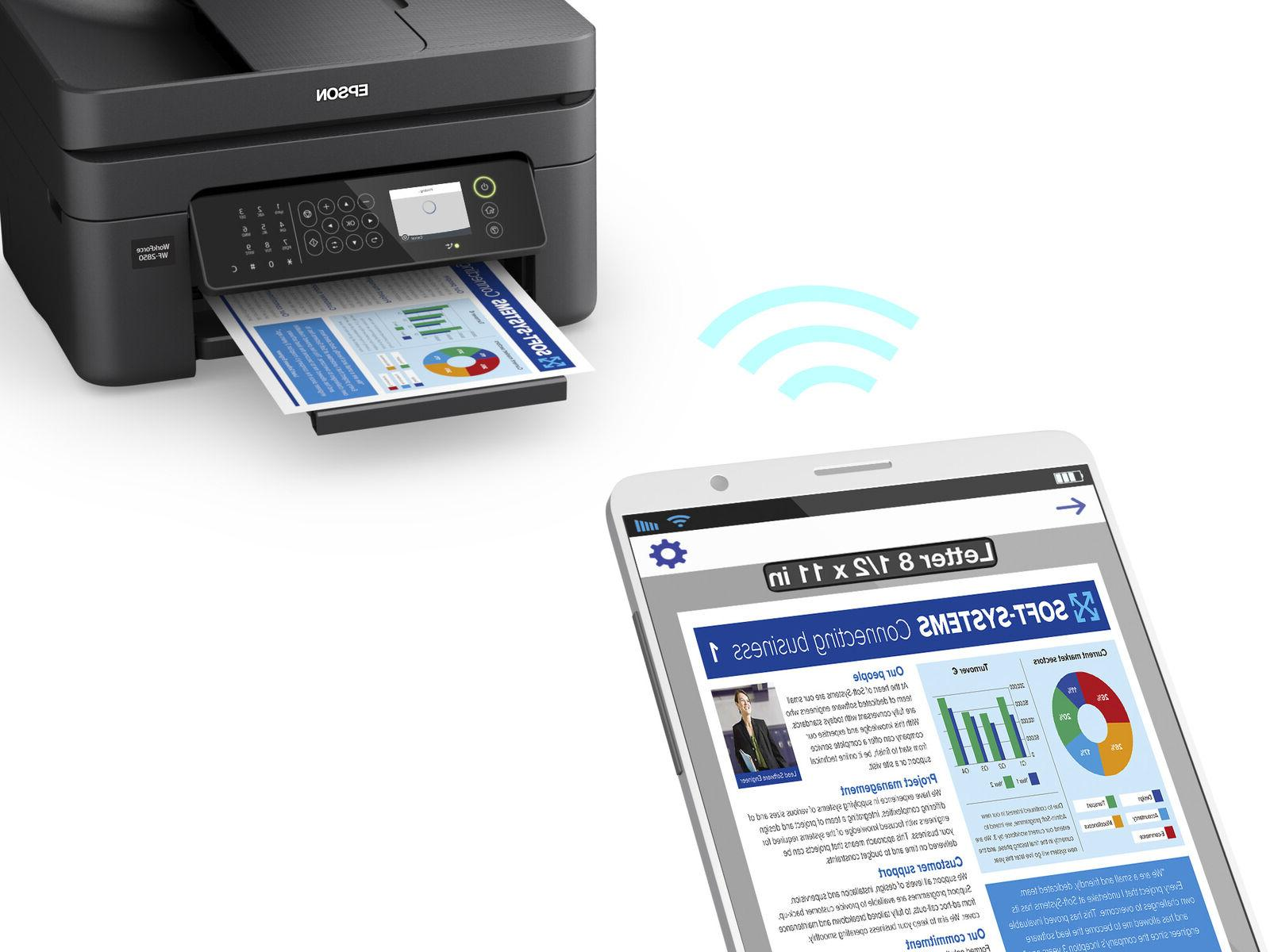 Epson Fax Scanner All-In-One Office Home Wi-Fi