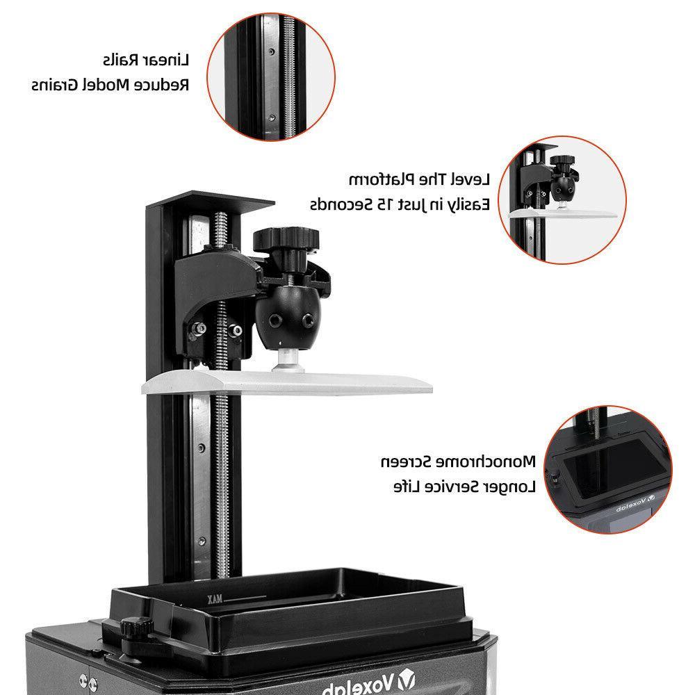 """Voxelab Proxima 3D 6"""" Photocuring High"""