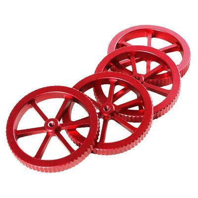 Red Aluminum Hand Twist Leveling for Pro X