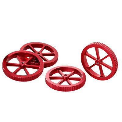 Red 3D Aluminum Hand Twist X CR-X