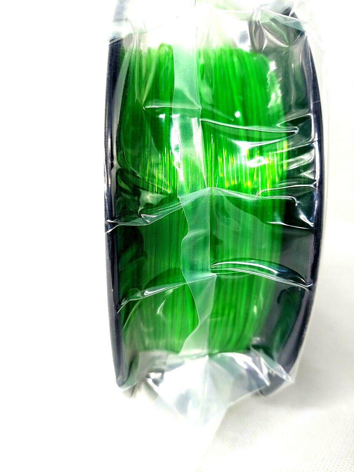3D Solutech Through GREEN 1.75mm Flexible 3D Printer Filament LBS