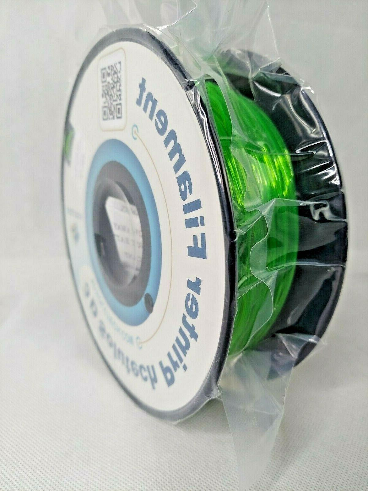 see through green 1 75mm flexible 3d