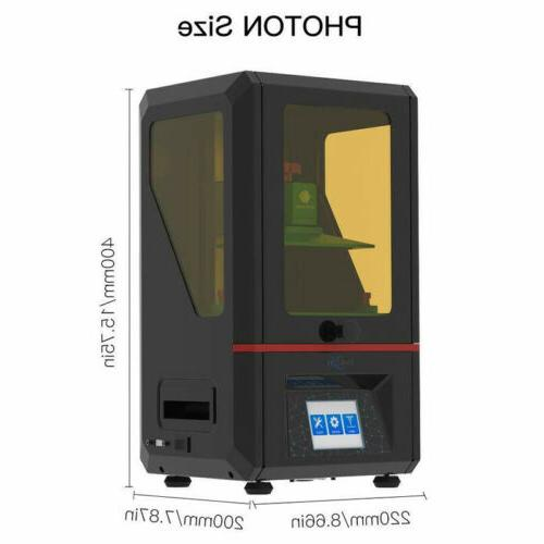 US 3D Printer UV Resin 2K LCD Screen Off-line Print