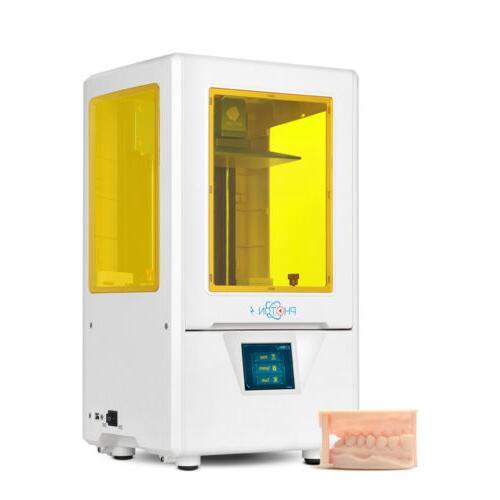 "US ANYCUBIC SLA LCD 3D Printer UV Resin Dual Z-axis 2.8""TFT"