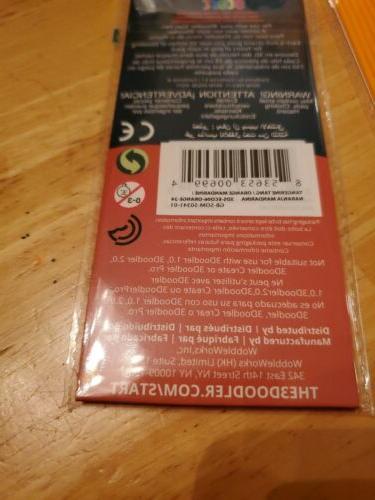3Doodler Start Plastic 3 Packs * Compatible w/
