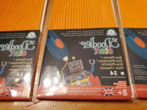 3Doodler Start Refill Plastic 3 Packs orange * w/ Start 3D Pen