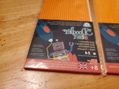 3Doodler Start Refill 3 Packs * w/ Start 3D Pen