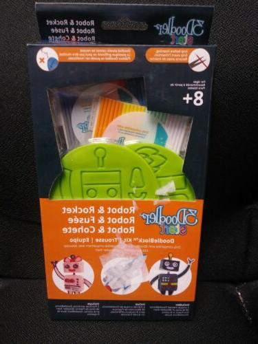 start rocket robot doodleblock kit