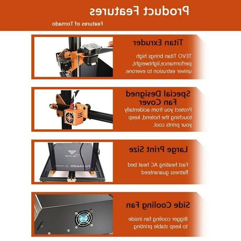 TEVO Assembled DIY Frame 3D Printer