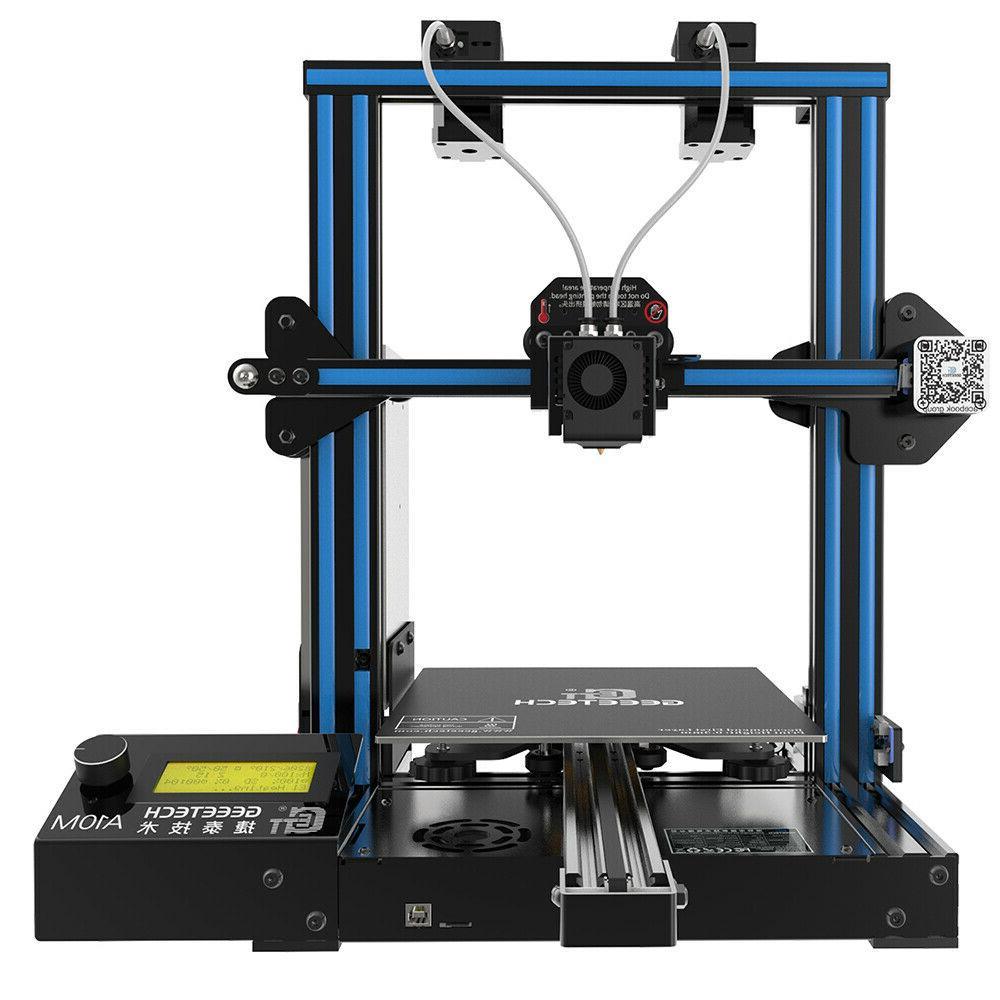 mix color printing dual extruder a10m 3d