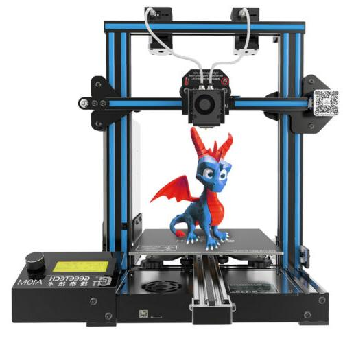 3D PrInter A10M Geeetech  2 in 1 out Extruder Filament Detec