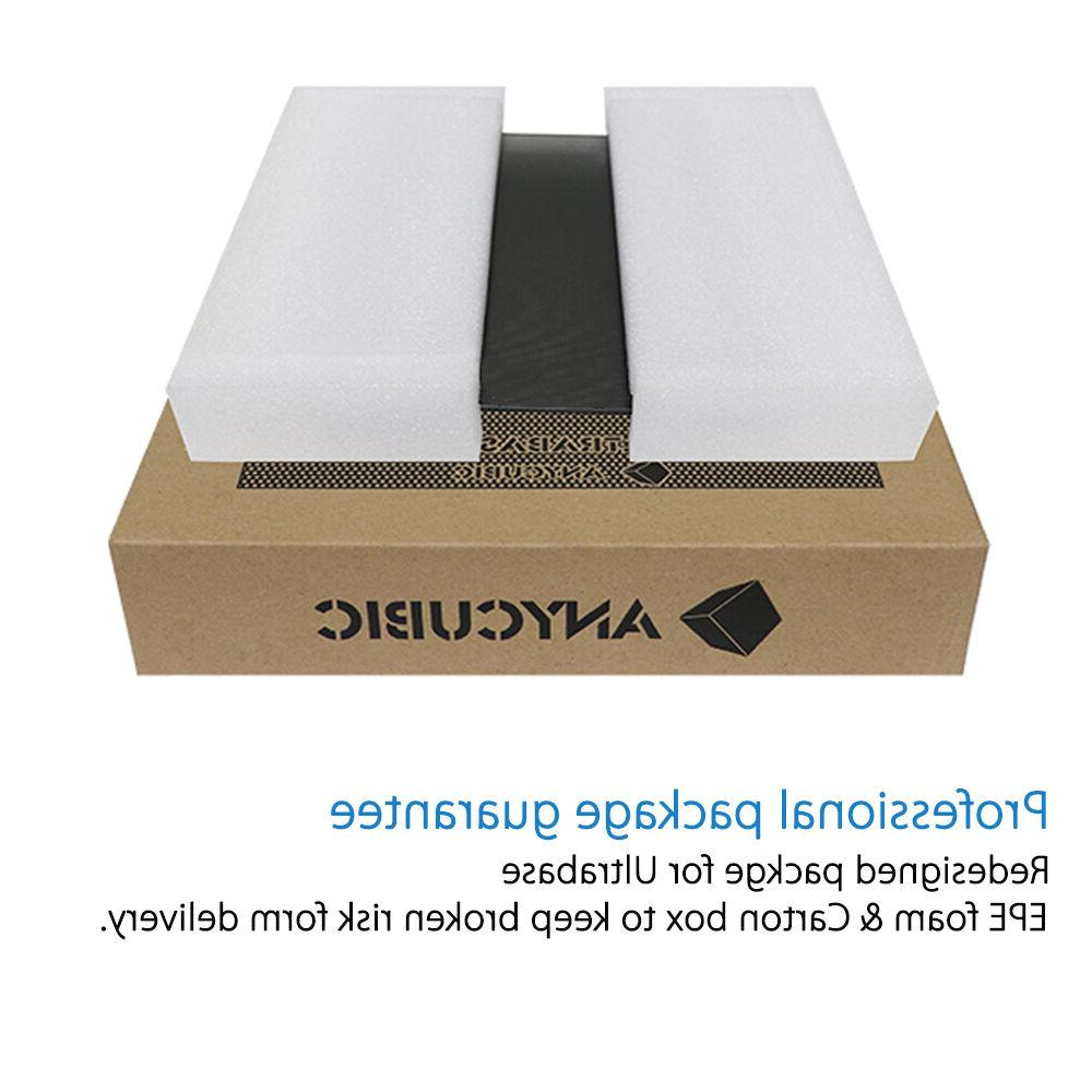 * Stock * Anycubic Ultrabase 220x220mm Bulid Platform