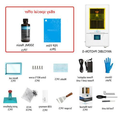 US SLA Photon   Photon S Dual Z-axis LCD Printer