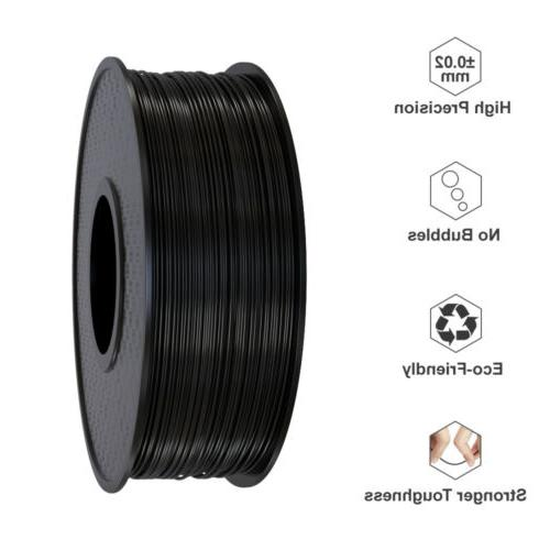 Wholesale 1/5/10 Printer Filament 1.75mm 0.5KG/1KG ABS/PLA