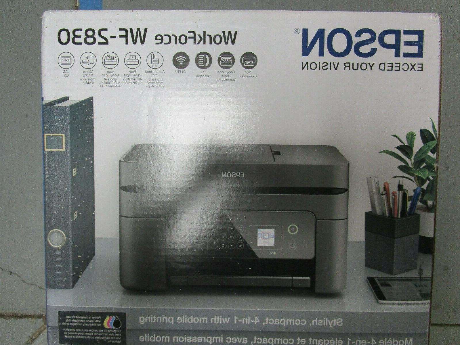 workforce compact 4in1 mobile printer wf 2830