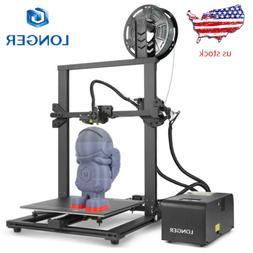 Longer LK1 3D Printer 300x300x400mm Large Size PLA Filament