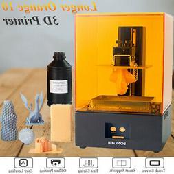 Longer Orange10 405nm LCD UV Resin STL 3D Printer 98*55*140m