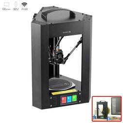 Mini 3D Printer Fully Assembled LCD Screen w/ Wi-Fi Micro SD