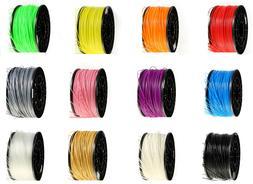 Jinos 3D Printer Filaments, PLA/ABS/TPU/Carbon-Fiber/PETG, 1