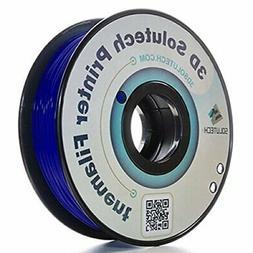 3D Solutech Navy Blue 3D Printer PLA Filament 1.75MM Filamen