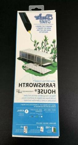 New 3d Doodler Create Farnsworth House 3d Pen NIB Sealed