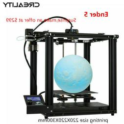 Newest Creality Ender 5 3D Printer 220X220X300mm DC 24V Chri