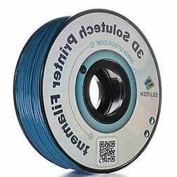 3D Solutech Pastel Blue 3D Printer PLA Filament 1.75MM Filam