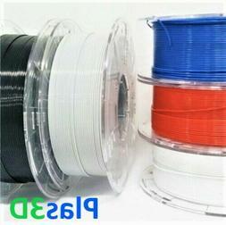 Plas3D PETG PLA Nylon ABS PC 1.75mm 3D Printer Filament Rais
