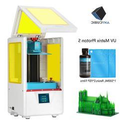 ANYCUBIC PHOTON-S Home Safe Desktop UV Matrix SLA 3D Printer