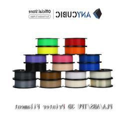 Anycubic  PLA 3D Printer Filament 1.75mm 1KG/2.2lb Spool PLA