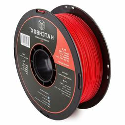 HATCHBOX PLA 3D Printer Filament, 1 kg Spool 1.75 mm +/- 0.0