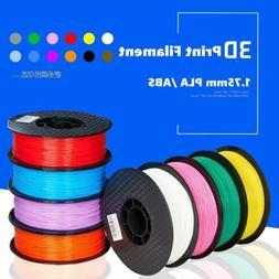 Premium 3D Printer Filament 1kg/2.2lb 1.75mm 3mm PLA ABS PET