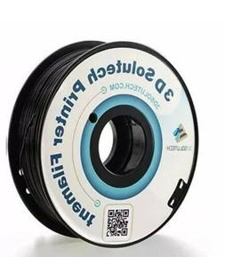 3D Solutech Real Black 3D Printer ABS Filament 1.75MM Filame
