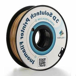 3D Solutech Real Gold 3D Printer PLA Filament 1.75MM Filamen