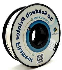 3D Solutech Real White 3D Printer PLA Filament 1.75MM Filame