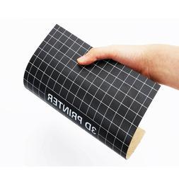Reusable Square 3D Printer Part Platform Paster Black Sticke