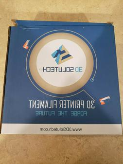3D Solutech See ThroughAqua Blue 3D Printer PLA Filament 1.7