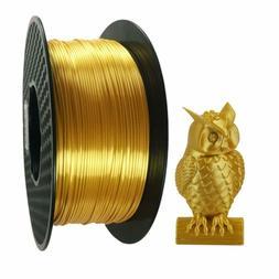 Silk Gold Pla 3D Printer Filament 1.75 Mm 1 Kg 2.2 Lbs Spool
