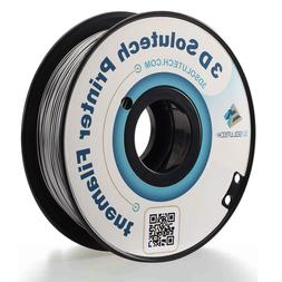 3D Solutech Silver Metal 1.75mm 3D Printer PLA Filament 2.2