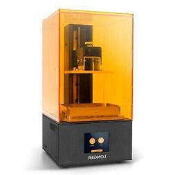 Longer SLA 3D Printer Orange 10,Resin 3D Printer with Touch