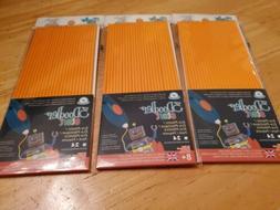 start refill plastic 3 packs orange compatible
