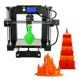 Upgraded Anet A6 High Precision 3d Printer 220*220*250mm ABS
