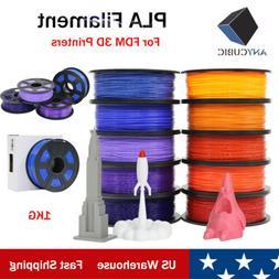 US ANYCUBIC 1.75mm PLA Filament for FDM 3D Printers I3 Mega