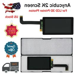 US Free Ship ANYCUBIC 2K LCD Screen Size 141*80.5mm for Phot