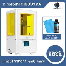 US ANYCUBIC Photon S SLA LCD 3D Printer UV Resin Light-Cure