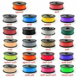 US Print Pack 1.75mm 3D Color Printer Filament Multiple For